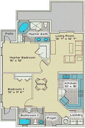 Grand Bahama floorplan